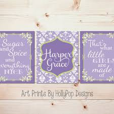Purple Nursery Wall Decor Purple Nursery Wall Decor Thenurseries