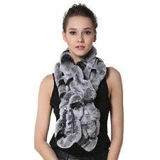 rabbit fur scarf scarves u0026 wraps ebay