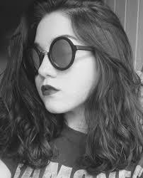glasses selfie hair lipstick makeup teen short hair