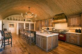 vaulted kitchen ceiling ideas kitchen with barrel vaulted ceiling hooked on houses