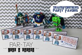 transformer rescue bots party supplies transformer party favors party like a cherry