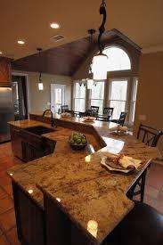 kitchen island designs with sink kitchen island interior curving brown wooden kitchen island with