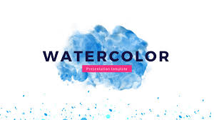 cool themes for google slides watercolor google slides theme free google presentation