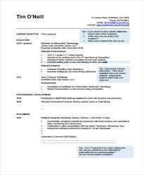 It Graduate Resume Sample by 40 Simple It Resume Templates Free U0026 Premium Templates
