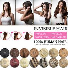 headband hair extensions crown wire invisible headband hair extensions halo style 100
