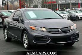 2014 used honda civic coupe 2dr cvt lx at alm kennesaw ga iid