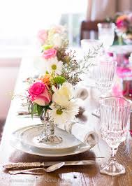 Set A Table by Far Above Rubies Pretty Spring Table