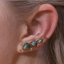 earring cuffs ear cuff designs wire jewelry wire wrap tutorials jewelry