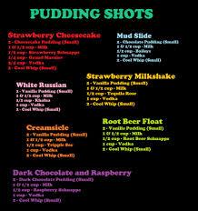 pinterest explosion pudding shots puddings and big bowl