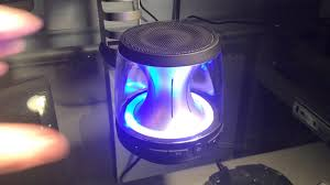 blackweb lighted bluetooth speaker review black web speaker sound review and how i would rate it youtube
