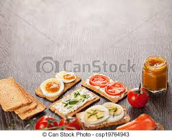 food canapes tasty canapes food border background stock photo search