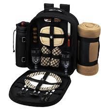 amazon com picnic at ascot deluxe equipped 2 person picnic
