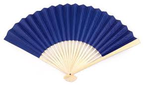 paper fans blue paper fans by fantastica supplier of all types of fans