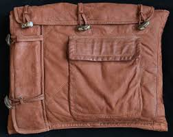 Upcycled Leather Bags - upcycled leather laptop case artsi fartsi triscartsi