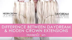 ds hair extensions the difference between daydream crown hair extensions