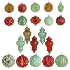 glass ornaments tree decorations the