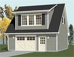 2 Story Garage Plans With Apartments Garage Plans 2 Car With Full Second Story 1307 1bapt 26 U0027 X