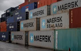 maersk executives call a bottom in the shipping container market wsj