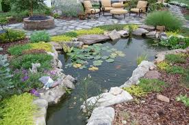 Backyard Pond Images 67 Cool Backyard Pond Design Ideas Digsdigs