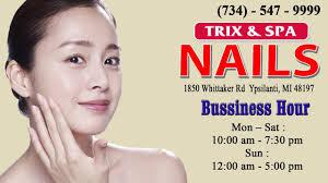 trix u0026 spa nail in ypsilanti mi 48197 phone 734 547 9999