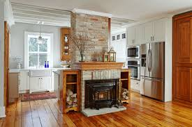 Home Designer Pro Square Footage Kitchen Of The Week Hearth And History In An Ontario Home