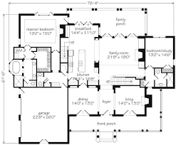 Scale Floor Plan 2250 Sf Main Level When Dining And Study Are Deleted Scale Down