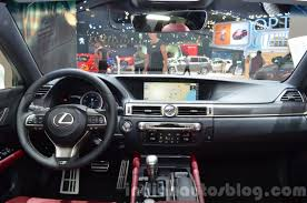 red lexus 2015 lexus gs f sport 200t interior dashboard at iaa 2015 indian