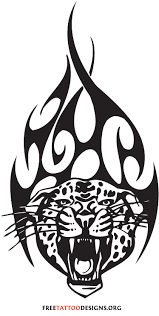 tribal tiger design templates patterns
