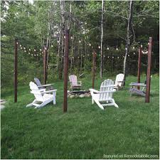 backyards mesmerizing outdoor light power line poles wood for