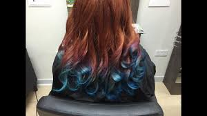 keune 5 23 haircolor use 10 for how long on hair awesome ginger purple blue hair color melt jayhair1 youtube