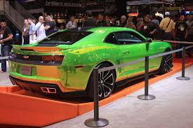 Custom Paint Color Sema 2011 Wheels Camaro Leads Trio Of New Concepts Unveiled