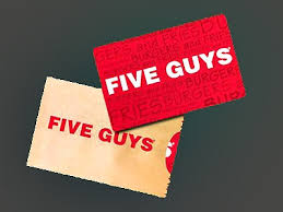 survey for gift cards www fiveguys survey five guys customer experience survey 25