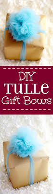 bows for gifts diy tulle gift bow tutorial the gracious