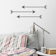 arrow trio wall art decal arrow trio wall art decal