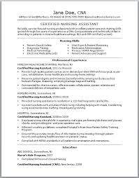 Sample Caregiver Resume No Experience by Cna Resume No Experience Template Design