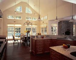 kitchen extension design ideas vaulted ceiling kitchen extension pull out trash can cabinet