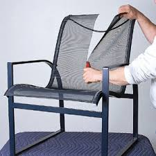 Outdoor Mesh Furniture by 17 Best Images About Patio Sling Chairs On Pinterest Vinyls
