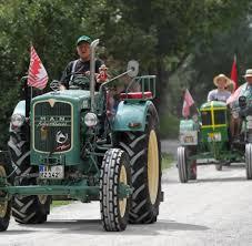 Freilandmuseum Bad Windsheim 500 Bulldog Traktoren Knattern Durchs Freilandmuseum Welt