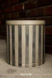 metal canisters kitchen canister metal tin upcycled stripped kitchen storage rustic