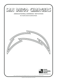 nfl football team helmets coloring pages all teams logos chargers