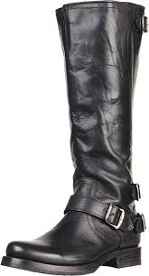womens boots zipper back amazon com frye s back zip boot knee high
