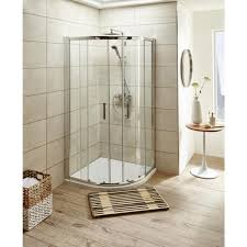 Shower Doors 1000mm pacific 1000mm quadrant shower enclosure 2 sliding doors