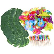 Tropical Themed Party Decorations - amazon com joyin toy luau tropical hawaiian party decoration set
