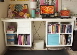 Ikea Hack Office Desk 48 Best Home Office Desk Images On Pinterest Office Desks Ikea