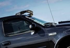 Led Light Bar Mounts Dodge Ram 50 Inch Dual Stacked Led Light Bars Complete Setup For Ford