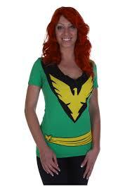 womens halloween shirt womens x men phoenix t shirt halloween costumes haleys board