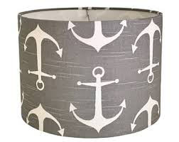 anchor lamp shade etsy