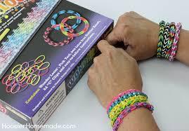 looms bracelet instructions images How to make a fishtail rubber band bracelet hoosier homemade jpg