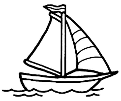 6 best images of printable boat template boat coloring pages