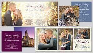 Wedding Invitations Utah Two Sided Photo Wedding Invitations Wedding Invitations Templates